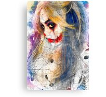 Tender Image of Fear Canvas Print