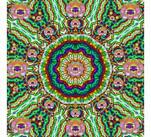 Flower Chakra Of Healing Floral Photographic Print