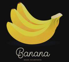 Banana (taupe) - Natural History Fruits Kids Tee