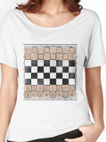 Poor man 's chess Women's Relaxed Fit T-Shirt