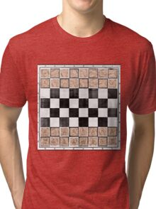 Poor man 's chess Tri-blend T-Shirt