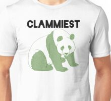 Clammiest Panda (Green) Unisex T-Shirt