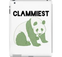 Clammiest Panda (Green) iPad Case/Skin