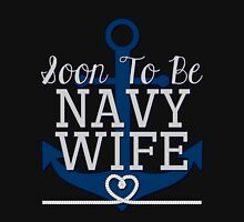 Soon To Be Navy Wife Womens Fitted T-Shirt