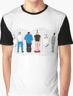 Mens Bathroom Graphic T-Shirt