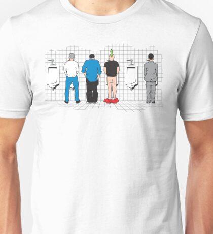 Mens Bathroom Unisex T-Shirt