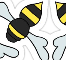 Bees Please Sticker