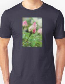 Rose Bud After a Rain Shower T-Shirt