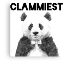 Clammiest Panda  Canvas Print