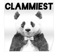Clammiest Panda  Poster