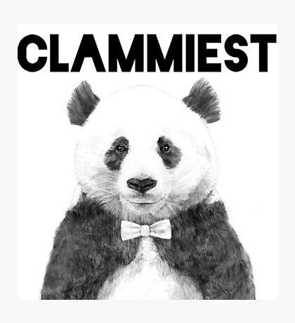 Clammiest Panda  Photographic Print