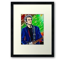 The Silver Punk Framed Print