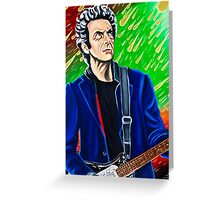 The Silver Punk Greeting Card