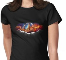 The Return of Gallifrey Womens Fitted T-Shirt