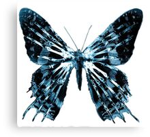 Fringe-butterfly Canvas Print