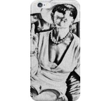 Woman of class iPhone Case/Skin
