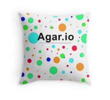 Agar.io logo Throw Pillow