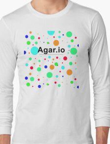 Agar.io logo Long Sleeve T-Shirt