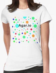 Agar.io logo Womens Fitted T-Shirt
