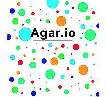 Agar.io logo Photographic Print