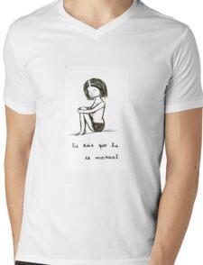 French Tears Mens V-Neck T-Shirt