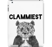 Clammiest Panda (Face) iPad Case/Skin
