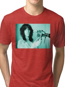 Patti Smith - Tee Print Tri-blend T-Shirt