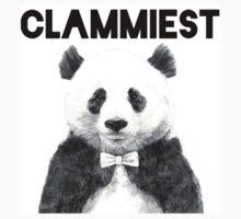 Clammiest Panda  Kids Tee
