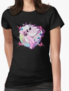 Shiny Mega Ampharos Womens Fitted T-Shirt