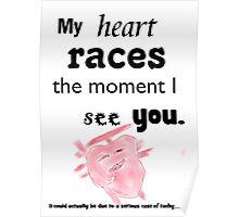 heartbeat biology Poster