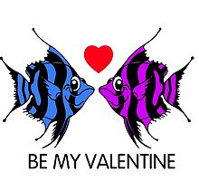 Tropical fish Valentine by mandalaole
