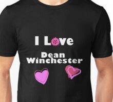 I Love Dean Winchester Unisex T-Shirt