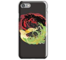 The Wolf and the Halla iPhone Case/Skin