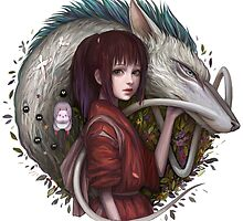 Spirited Away by Jelay Kitani