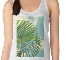 palm tree leaves Women's Tank Top