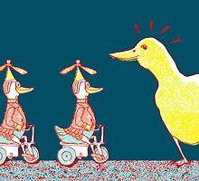 Ducks in a Row by SusanSanford