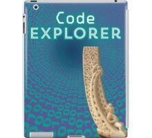 Code Explorer iPad Case/Skin
