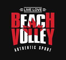 Live Love Beach Volley Canada Unisex T-Shirt