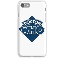 Dr who logo 1973-1980 iPhone Case/Skin
