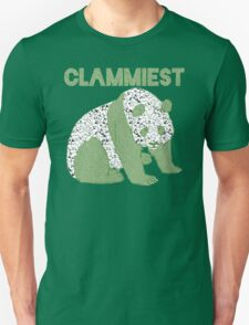 Clammiest Panda (Green Black White) T-Shirt