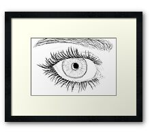 sketch Framed Print