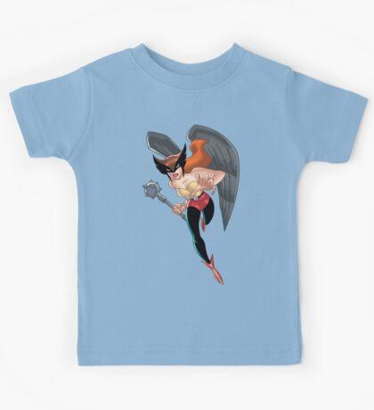 Hawkgirl Kids Tee