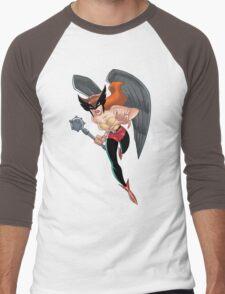 Hawkgirl Men's Baseball ¾ T-Shirt