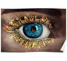 Eye in Flames Poster