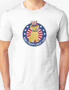 "Political Spoof Preppy Dog -""Make Preppy Great Again"" Unisex T-Shirt"