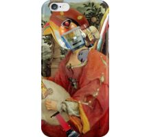 Lute Playing Mechanical Bird.  iPhone Case/Skin
