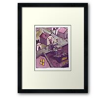 Counting the Loot Framed Print