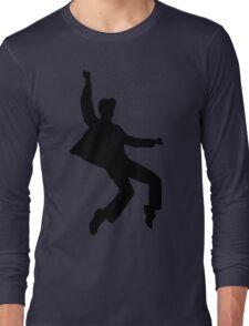 B&W Elvises Long Sleeve T-Shirt