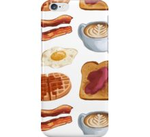 breakfast foods iPhone Case/Skin