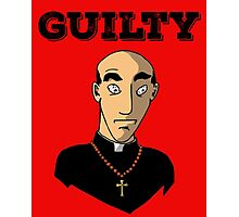 Guilty Priest Photographic Print
